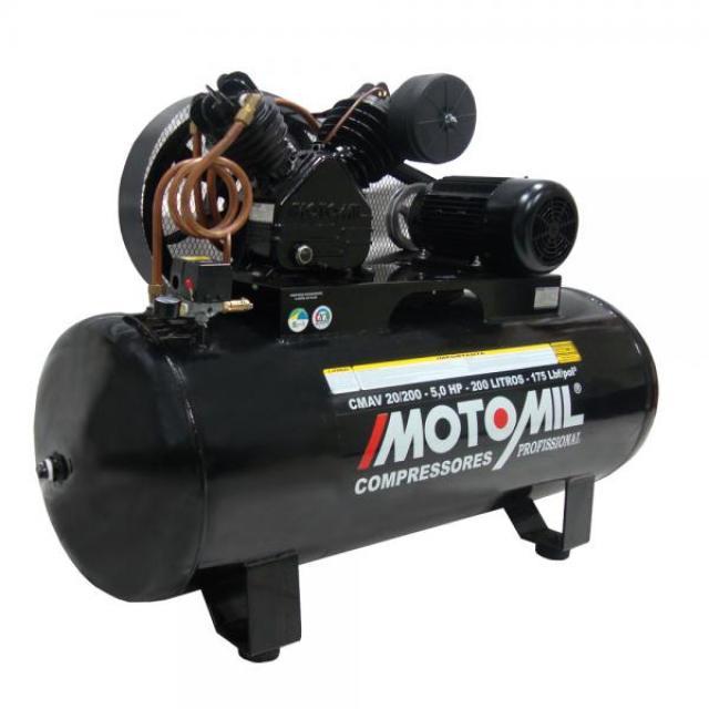 COMPRESSOR DE AR CMAV 20/200 5.0HP TRIF.220/380V