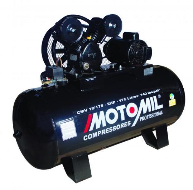 COMPRESSOR DE AR CMV 10/175 2HP MON.140LBS