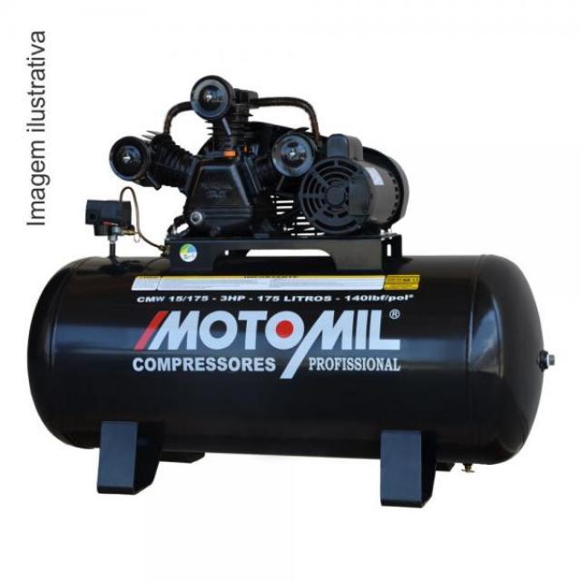 COMPRESSOR DE AR CMW-15/175 I 3,0HP MONO 140LBS