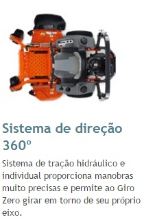 TRATOR CORTADOR DE GRAMA HUSQVARNA PZ60