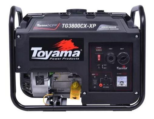Gerador A Gasolina 3. 1 Kva Tg3800cx Toyama