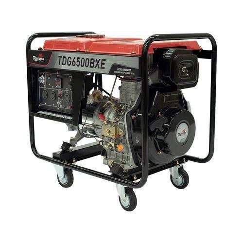 Gerador Energia A Diesel Toyama Tdg6500 BXE