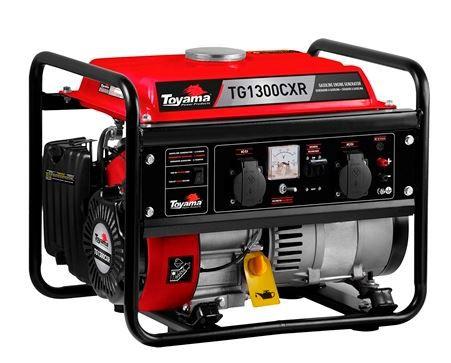Gerador Energia A Gasolina Toyama TG1300CXR Manual 1.25 KVA Bivolt