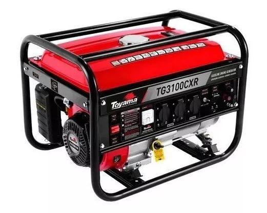 Gerador Energia Toyama Tg3100cxr Bivolt 110/220v