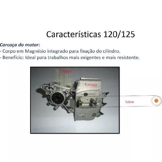 """MOTOSSERRA HUSQVARNA 125 16"""" 28 DTS 3/8 1.3 PICO M"""
