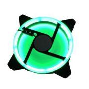 COOLER P/ GABINETE 12X12 BRAZILPC BPC 220 C/ LED DUPLO VERDE OEM
