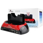 "DOCK STATION HD SATA E IDE - 2,5"" E 3.5"" USB 2.0 - KP-HD005 KNUP"