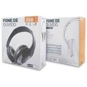 FONE DE OUVIDO HP-350 SILVER HARDLINE
