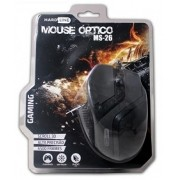 MOUSE OPTICO GAMER 800 a 2400 DPI USB BLISTER MS-26 PRETO