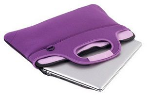 "MALA P/ NOTEBOOK 14"" - NEOPRENE - AUPA-A531-RX - ROXA - AUTENTIC"