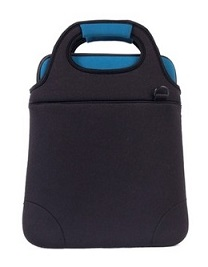 "MALA P/ NOTEBOOK 14"" - NEOPRENE - AUPA-A543-PT - PRETA - AUTENTIC"