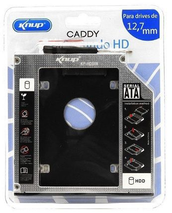 ADAPTADOR SSD HD CADDY KP-HD009 12,7mm KNUP