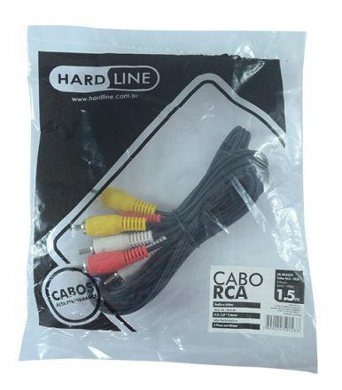 CABO RCA HL-RCA315 3 FIOS 1,5 M