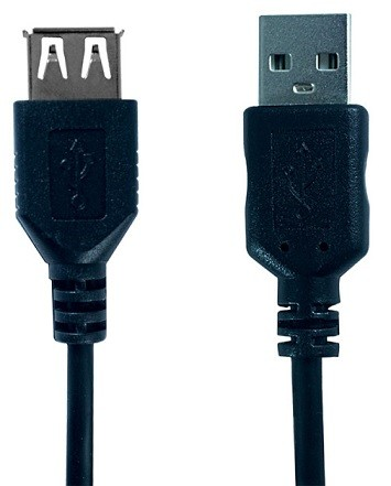 CABO USB 2.0 - 3,0 M EXTENSOR AMACHO/AFEMEA HL-USBAMAF03