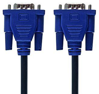 CABO VGA 15 M 15 PINOS HD15M x HD15M POLIBAG