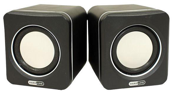 CAIXA DE SOM (PAR) USB PRETA GT-SP29 - HARDLINE