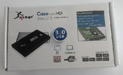 "CASE HD EXTERNO SATA - 2.5"" USB 3.0 - KP-HD003 KNUP"