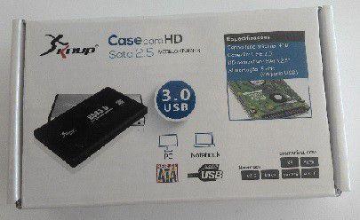 "CASE HD EXTERNO SATA - 2.5"" USB 3.0 - KP-HD003 KNUP"