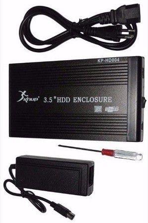 "CASE HD EXTERNO SATA - 3.5"" USB 3.0 - KP-HD004 KNUP"