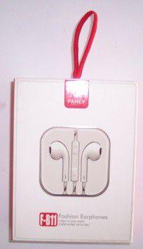 FONE INTRA-AURICULAR P2 F-B11 - FANCY - BRANCO