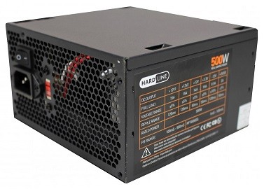 FONTE DE ALIMENTACAO ATX 500W REAL GAMER HL-PS
