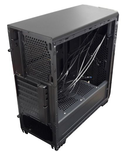 GAB - BRAZIL PC - GAMER - 7025BB BLACK SEM FONTE