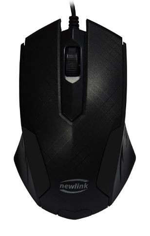 MOUSE GRID MO228 PRETO NEWLINK