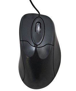 MOUSE OPTICO 800 DPI PS2 BLISTER ZL-76 HARDLINE