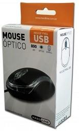MOUSE OPTICO 800 DPI USB FM-04 HARDLINE