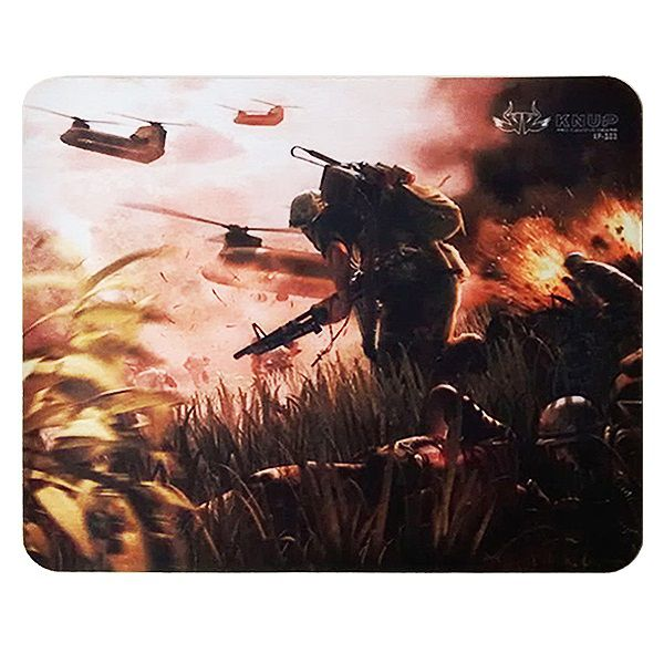 MOUSE PAD GAMER 21x26 CM KP-S03 KNUP
