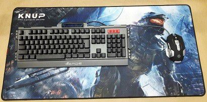 MOUSE PAD GAMER PRO GAMING 40x80 CM KP-S09