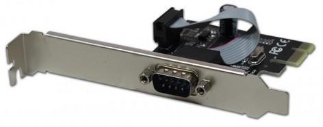 PLACA PCI-E C/1 PORTA SERIAL - N-EXP1S