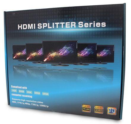 SPLITTER HDMI HL-SPT154001 1 A 8 PORTAS - PADRAO