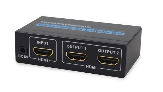 SPLITTER HDMI HL-SPT154002 1 A 2 PORTAS - PADRAO