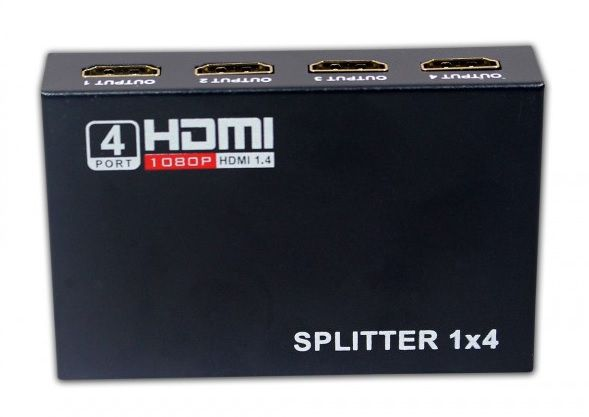 SPLITTER HDMI HL-SPT154005 1 A 4 PORTAS - PADRAO