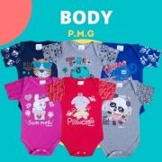 BODY M/M SUEDINE REATIVO C/ SILK P/G PCT C/3