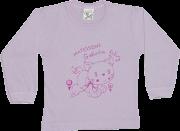 Camiseta Manga Longa Sem Botão Com Silk