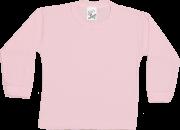 Camiseta Manga Longa Suedine Canelado Com Botão