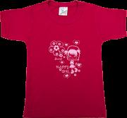 Camiseta Reativa Manga Curta Sem Botão