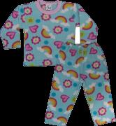 Pijama Manga Longa Soft Estampada
