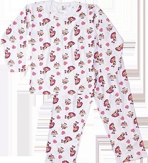 8527f84f2 Pijama Manga Longa Estampado - Loja Virtual Mafessoni