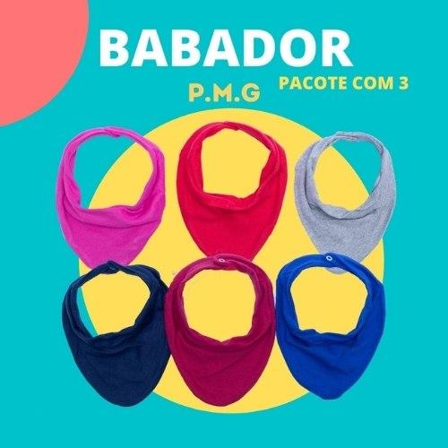 BABADOR BANDANA SUEDINE REATIVO PCT C/3