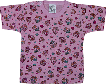 Camiseta Meia Manga Com Botão