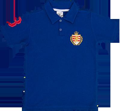 Camiseta Polo Piquet Com Bordado