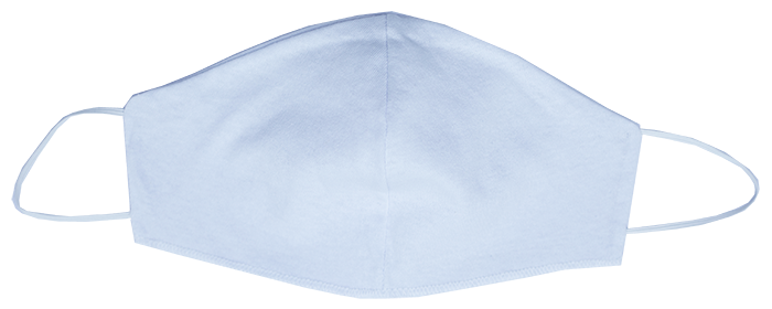 Mascara Tecido Duplo (Modelo Ninja Elastico) PCT Com 10
