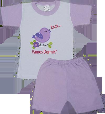 Pijama Meia Manga
