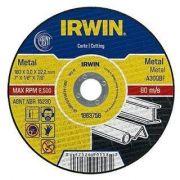 Disco De Corte 230 X 3.0 X 22,2 Irwin Para Metal 1863759