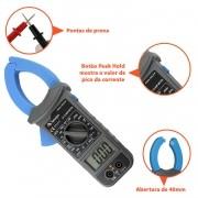 Amperimetro e Multimetro Digital Alicate - Minipa - ET-3111