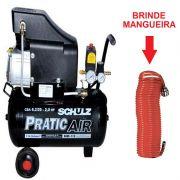Compressor De Ar Pratic Air 8,2 Pés 25 Litros Schulz - 915.037