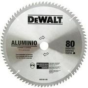 Disco De Serra Widea 10  80 Dentes Alumínio Dewalt - DW03210